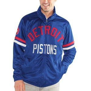 NWT - Detroit Pistons Full-Zip Track Jacket